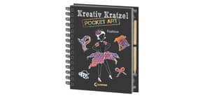 Kreativ-Kratzelbuch Pocket LOEWE 8675-4 Fashion Produktbild