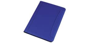 Cartella portablocco Alassio MESSINA in ecopelle 24x2,5x33 cm A4 blu 30082 Immagine del prodotto