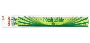 Triplo decimetro ARDA Linea Elastika plastica flessibile verde trasparente 30 cm - EL30P Immagine del prodotto