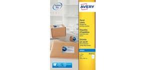 Etichette bianche per indirizzi per pacchi AVERY 199,6 x 289,1 mm 25 fogli - J8167-25 Immagine del prodotto