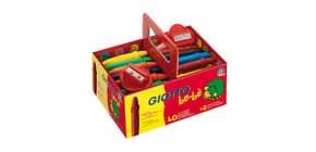 Superpastelloni a cera GIOTTO be-bè assortiti Schoolpack da 40 + 2 temperini - 462700 Immagine del prodotto