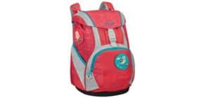 Schultaschenset Ergofit Jungle red Produktbild