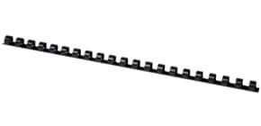 Dorsi a spirale Q-Connect A4 nero 10 mm fino a 65 fogli Conf. 100 pezzi - KF24020 Immagine del prodotto
