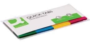 Segnapagina Q-Connect Neon assortiti 19x43 mm blister 4 blocchetti da 50 - KF01225 Immagine del prodotto