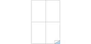 Etichette bianche MARKIN permanenti 105x148,5mm senza margine conf. da 400 etichette - X210C519 Immagine del prodotto