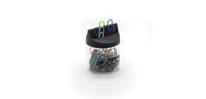 Fermagli Leone Dell'Era in filo colorato metallizzato N. 4 Assortiti barattolo calamitato da 60 pz. - FXM4 Immagine del prodotto