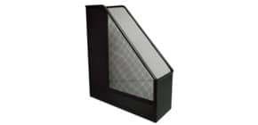 Portariviste in metallo Q-Connect 9,5x29,5x25,8 cm nero KF00862 Immagine del prodotto