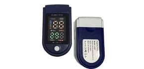 Saturimetro da dito - Certif. CE - risultati in 8 secondi - blu/bianco LK87 Immagine del prodotto