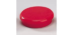 Magneti Dahle rotondi Ø 24 mm rosso altezza 7 mm - forza 3 N - conf. 10 pezzi - R955243x10 Immagine del prodotto