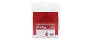 Tessere fini in PVC per stampante Badgy 0,50 mm in confezione da 100 tessere - CBGC0020W Immagine del prodotto