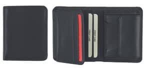 Geldbörse Kombi schwarz HJP 60675.01 Hochformat Produktbild