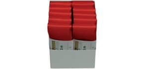 Basic Taftband 40mmx3m rot 1445040201003 Produktbild