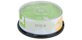 DVD-R 25er Spindel inkl. URA Produktbild
