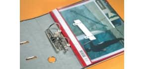 Abheftstreifen PVC weiß Produktbild