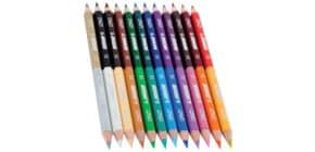 Farbstiftetui 12 Stück DUO Produktbild
