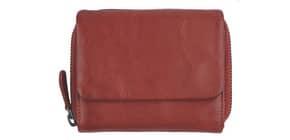 Geldbörse Leder rot HJP 60076.02 Produktbild