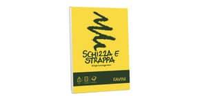 Album da disegno Favini SCHIZZA&STRAPPA in carta naturale liscia 50 g/m² 14,8x21cm (A5) -150fg - A200705 Immagine del prodotto