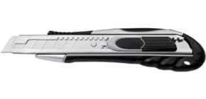 Cutter di sicurezza Westcott Duo Safety larghezza lama 18 mm grigio / nero E-84031 00 Immagine del prodotto