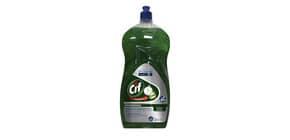 Detergente per stoviglie Svelto Più Limone Professionale - verde - flacone 2 litri - 101103453 Immagine del prodotto