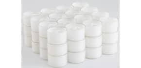 Teelicht 48 Stück weiß Produktbild