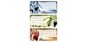 Schuletikette Fußball Produktbild