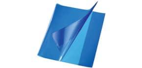 Hefthülle Quart PP blau Produktbild