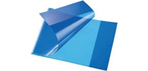 Hefthülle A5quer PP blau Produktbild