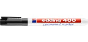 Marcatore permanente edding 400 punta conica 1 mm nero 4-400001 Immagine del prodotto