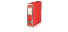 Scatola con cerniera in metallo Box 1 - apertura parziale Brefiocart 37,5x29,5 cm dorso da 9 cm rosso - RESX101.RO Immagine del prodotto