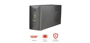Gruppo di continuità da 1000 VA UPS Trust Oxxtron nero 17680 Immagine del prodotto