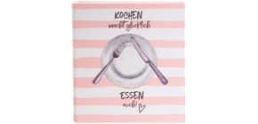 Kochrezeptbuch Ordner Kochen macht glück Produktbild