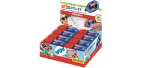 Kleberoller Mini blau/rot Produktbild
