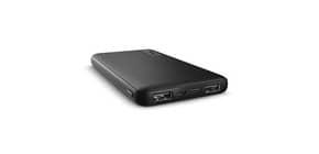 Powerbank ultrasottile da 10.000 mAh Trust Primo 2 USB A + 1 USB C nero 23595 Immagine del prodotto