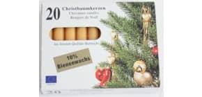 Christbaumkerze Bienenwachs Produktbild
