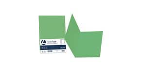 Cartellina semplice FAVINI FOLDER S cartoncino Simplex Luce&Acqua 200 g/m² 25x34cm verde 60  conf.50 - A50D664 Immagine del prodotto