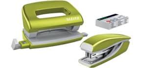 Locher Hefter Set WOW grün Produktbild