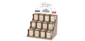 Weihn.Teelichthalter Zauberh.Weihnachten FÜR DICH 640150 H6cm D6cm Produktbild