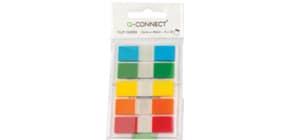 Segnapagina Q-Connect neon 12x43 mm 5 colori trasparenti blister 5 blocchetti da 20 - KF14966 Immagine del prodotto