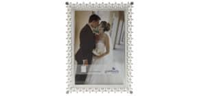 Bilderrahmen Hochzeit silber Produktbild