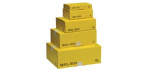 Versandkarton S gelb 821400100070/212151120 Produktbild