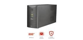 Gruppo di continuità da 800 VA UPS Trust Oxxtron nero 17938 Immagine del prodotto