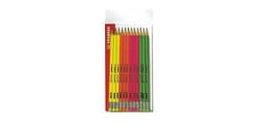 Matite Stabilo Swano fluo 2,5 mm grafite hb confezione da 12 - IT12/110-490712 Immagine del prodotto