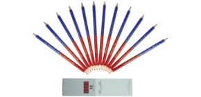 Bürofarbstift rot-blau Produktbild