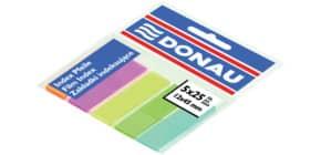Index 5x25BL farbig sortiert 12x45mm DONAU 7577001PL-99 Produktbild