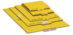 Versandkarton XL gelb 8214 972 30 15 0 Produktbild