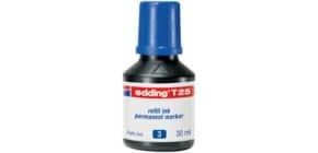 Inchiostro permanente per ricarica edding T 25 blu - 30 ml 4-T25003 Immagine del prodotto