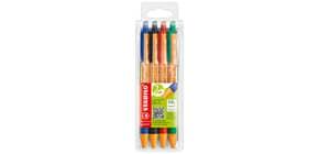 Kugelschreiber Etui 4ST Pointball Produktbild