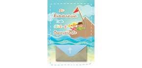 Kommunionskarte Geldschein 12-1302   Bild Produktbild