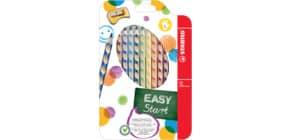 Matite colorate Stabilo EASYcolors per mancini assortiti astuccio da 12 - 331/12 Immagine del prodotto