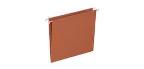 Cartelle sospese per cassetto ELBA Defi interasse 33 cm arancione fondo V Conf. 25 pezzi  400126765 Immagine del prodotto